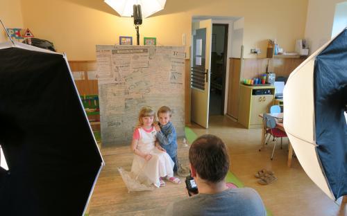 A ještě pár obrázků z fotografování dětí.